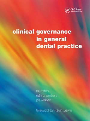 cover image of Clinical Governance in General Dental Practice